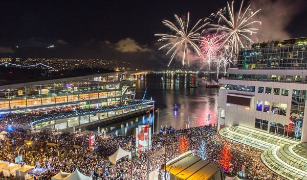 Vancouver New Year Fireworks